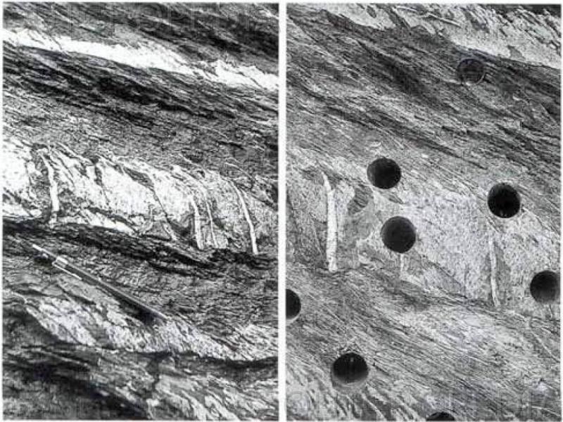 Cleavage refraction – geovandalism
